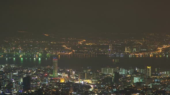 Thumbnail for Time-Lapse Of George Town City In Penang, Malaysia