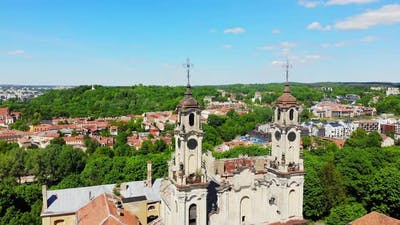 Abandoned Catholic Church In Vilnius