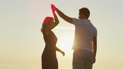 Boyfriend Spinning His Girlfriend
