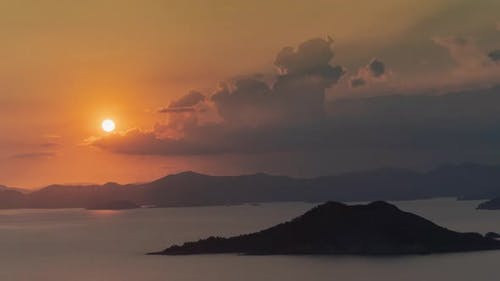 Mediterranean Sunset Timelapse