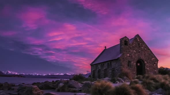 New Zealand timelapse Lake Tekapo