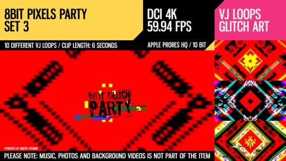 Thumbnail for 8 Bit Pixels Party (4K Set 3)