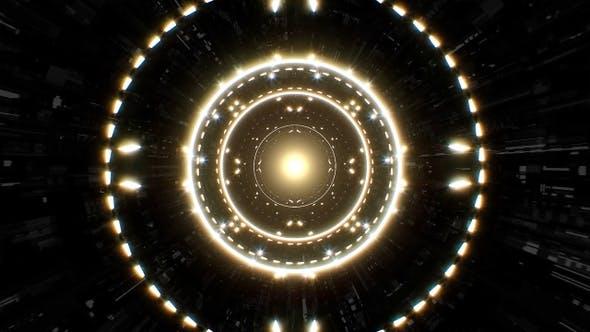 Sparkling Light Tunnel