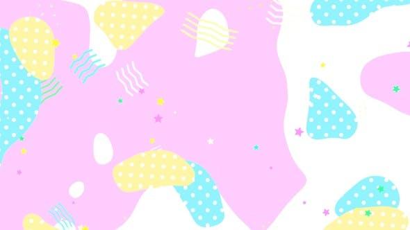 Thumbnail for Pink Geometric Art