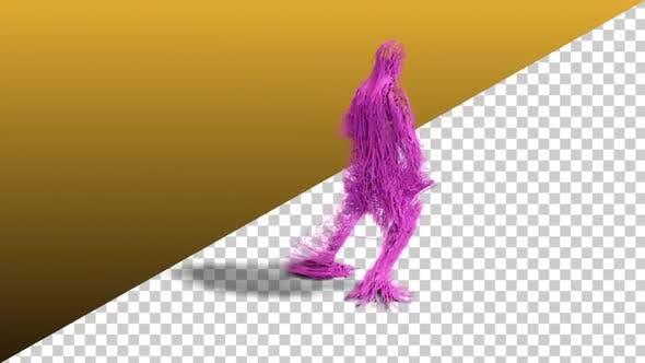 Dancing Hairy Dude