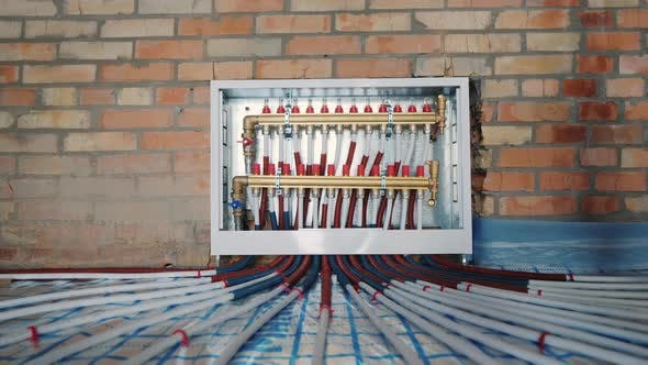 Thumbnail for Comb System of a Heat-insulated Floor, Modern System of Heating