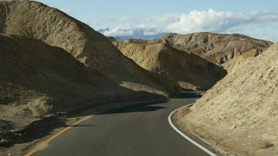 Road Trip to Death Valley Artists Palette Drive California USA