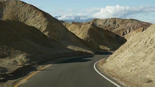 Voyage en route à Death Valley Artistes Palette Drive Californie États-Unis