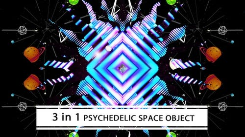 Psychedelic Space Object