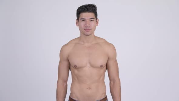 Thumbnail for Young Handsome Muscular Shirtless Man