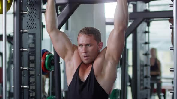 Thumbnail for Man Doing Pull Ups during Workout