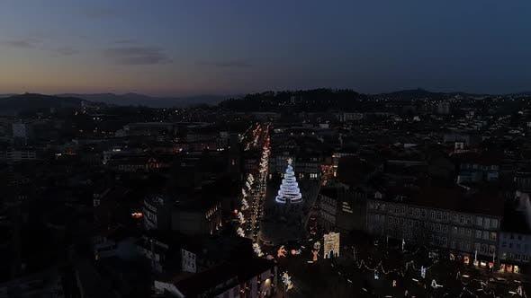 Thumbnail for Christmas City at Night