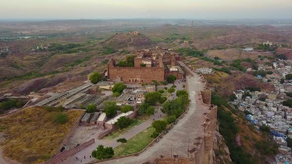 Thumbnail for Mehrangarh Fort at Jodhpur Rajasthan, India