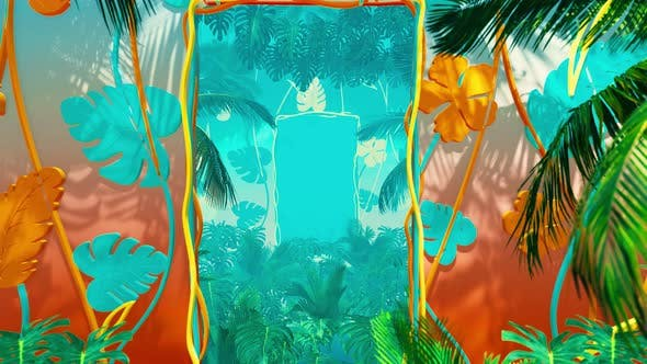 Thumbnail for Flying In Jungle For Summer Hawai 02 4K