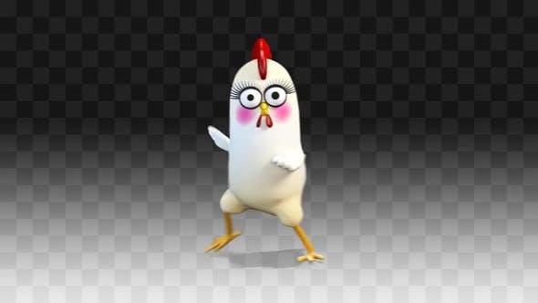 Chiken Gangnam Style Dance