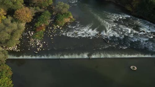 Maritsa River Around Village Brob In Bulgaria 10