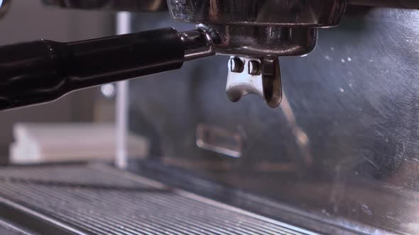 Thumbnail for Close-Up Of A Machine Coffee Making.