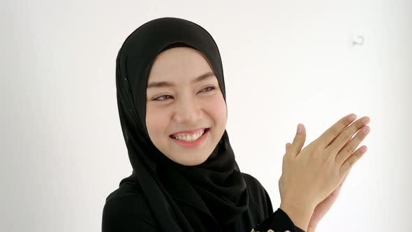 Thumbnail for Portrait of a Young Asian Muslim Woman 13