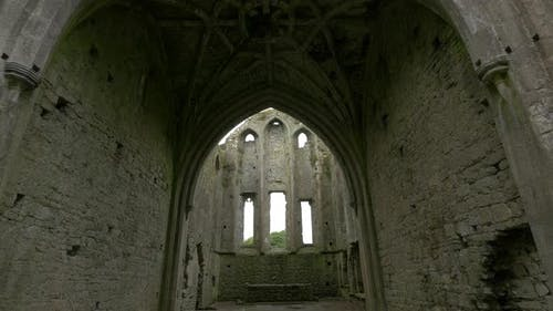 Rib vaulted ceiling