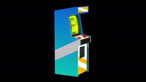 4K Arcade machine with alpha