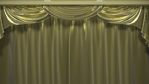 4K Opening Theater Curtain Pack