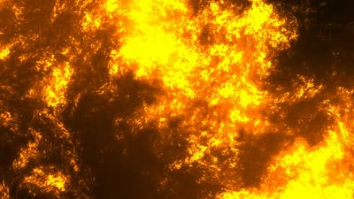 Lava Lake Volcano Abstract Background