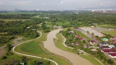 rural village at Malays village
