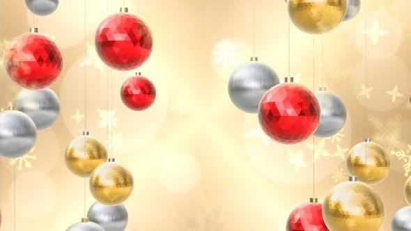 Thumbnail for Christmas Background 4k 01