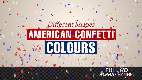 Thumbnail for American Confetti Colors