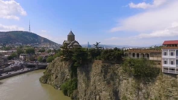 Thumbnail for Metekhi Church and Kura River in Tbilisi, Tourism and Sightseeing in Georgia