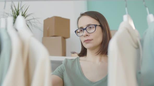 Female Buyer on Shopping