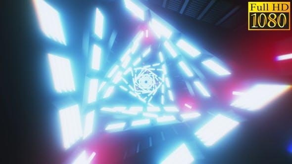 Thumbnail for Tunnel Retrowave Vj Loops Pack V3