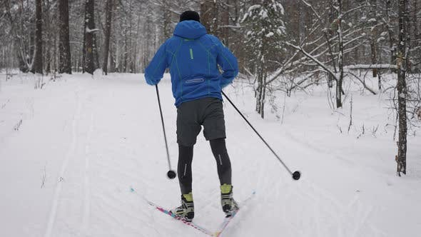 Crosscountry Skiing Winter Training