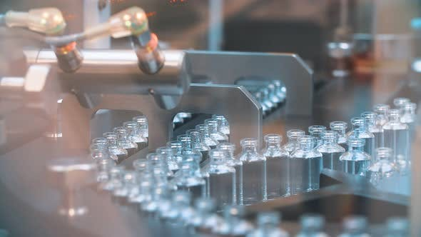 Glass Medical Bottles in Pharmaceutical Production for the Production of Vaccines and Medical