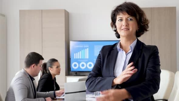 Adult Confident Businesswoman