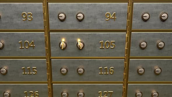 Thumbnail for Fine Gold Bars Inside Safety Deposit Box