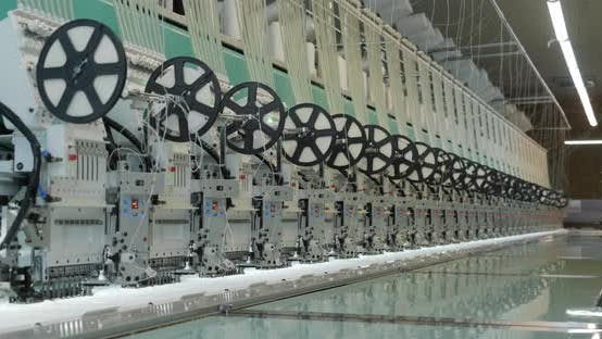 Garment Factory Industrial Embroidery Machine 03
