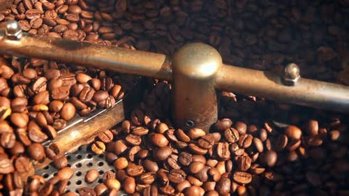 Coffee In Roasting Machine 3