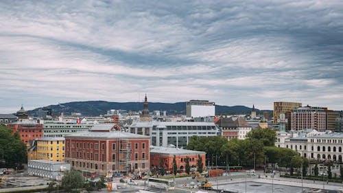 Oslo Norway  June 23 2019 View Of Oslo Cityscape Skyline