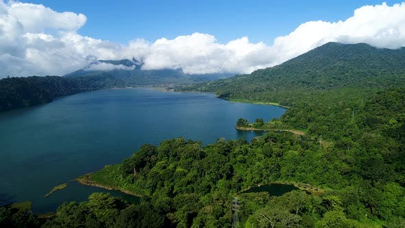 Thumbnail for Buyan Lake in the Mountains, Island Bali, Indonesia