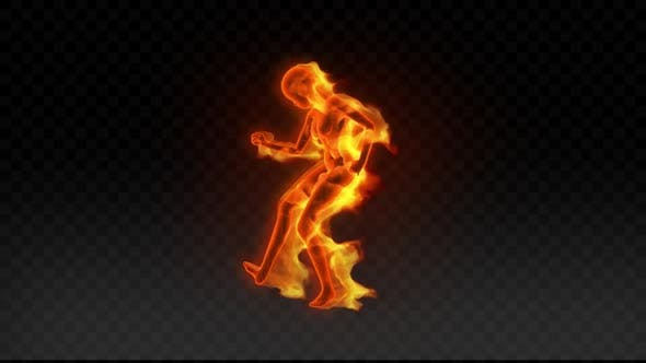 Fiery Girl Dance 8
