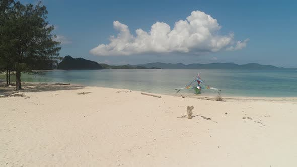 Thumbnail for Seascape with Beach and Sea. Philippines, Luzon.