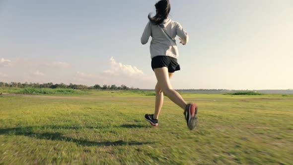 Active healthy lifestyle in summer nature outdoors.