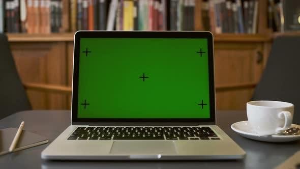Thumbnail for Laptop Green Screen For Mock Ups