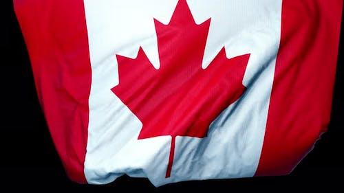 Canada Unfolding Flag