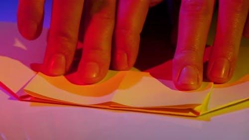 Art of Paper. Closeup
