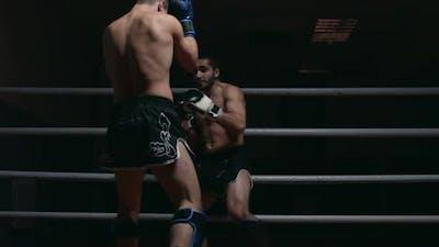 Tough MMA Fight