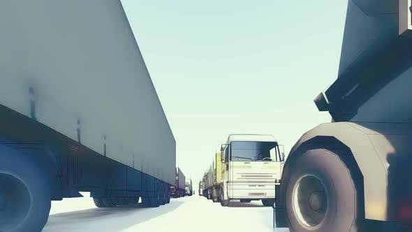Thumbnail for Truck Traffic Sketch