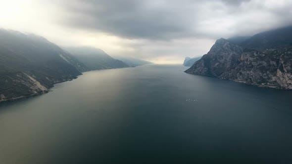 Thumbnail for Misty Mountain Lake Aerial