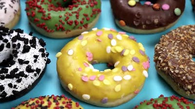 Assorted Donuts with Icing